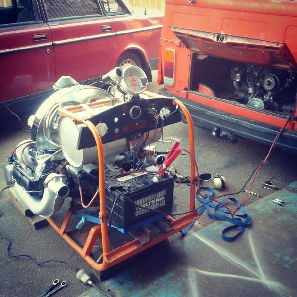 Test run ...1600cc VW