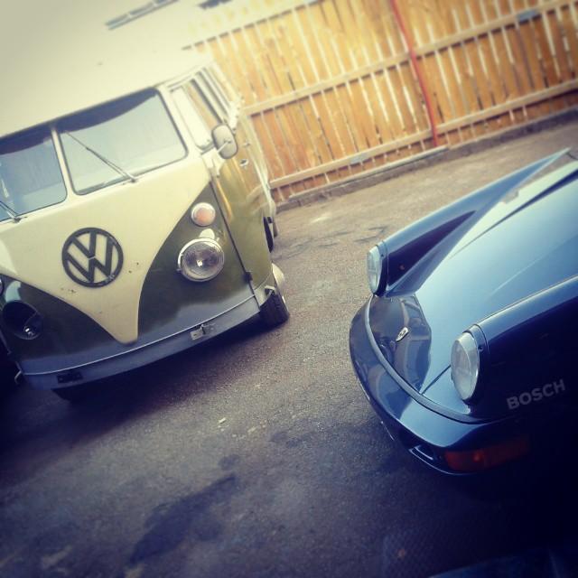 Splitbus & Porsche