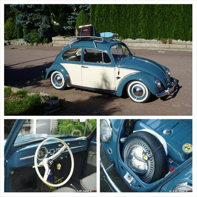 Restored this 1965 VW Beetle back in 2004. Sold to Denmark.