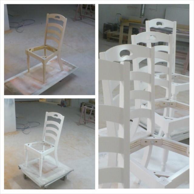 Någon som behöver stolar, bord, kök eller något annat lackerat? info@maindrive.org