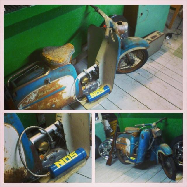 Monarscoot 1961 säljes. 6000:- eller bud. info@maindrive.org