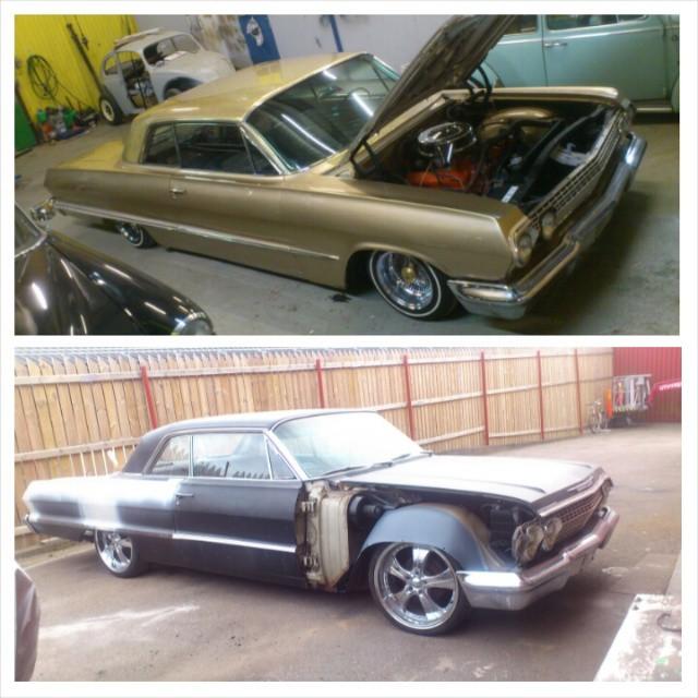 Same car 11 months later...