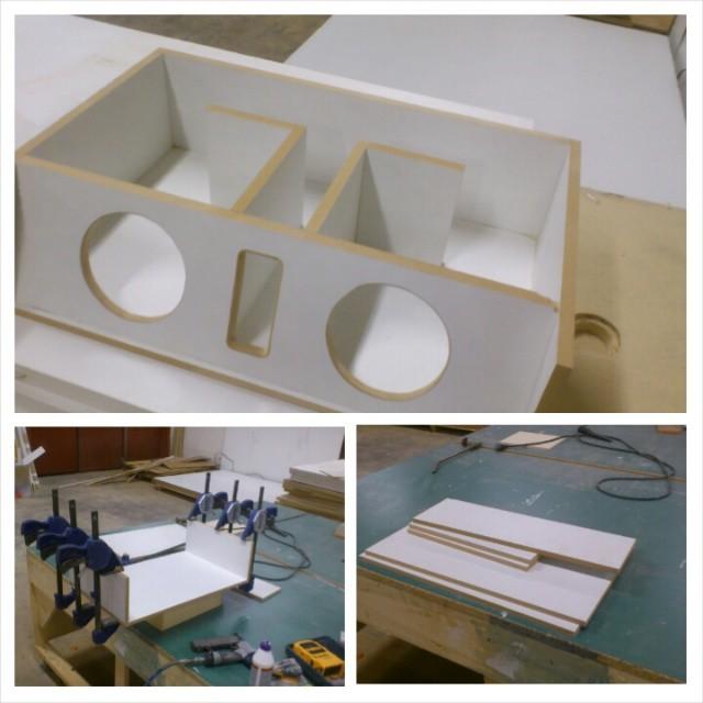 Subwoofer box build