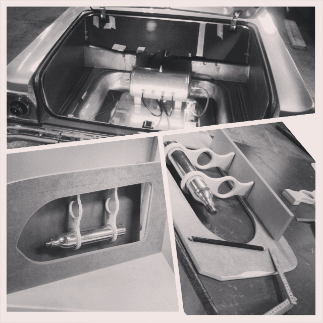 Custom trunk panels in tha making...