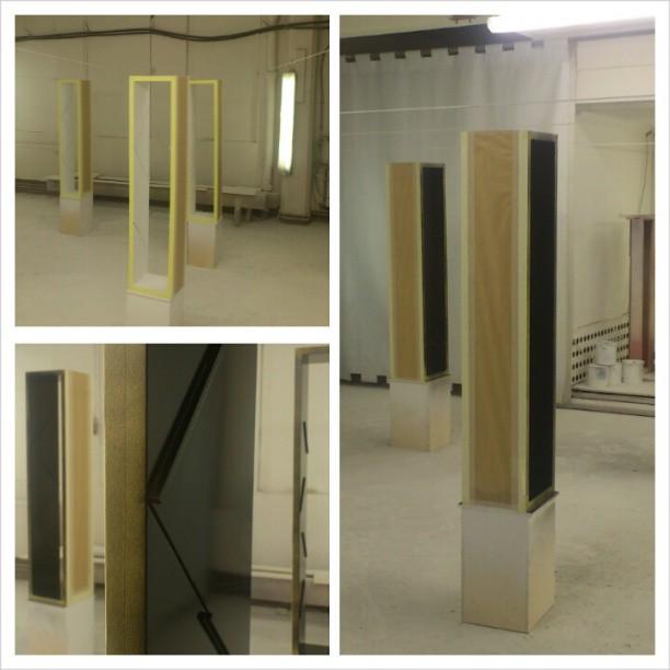 Folderstacks for ABB exhibitions