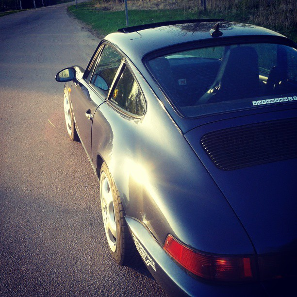 Took a spin in my Porsche today. Nice!