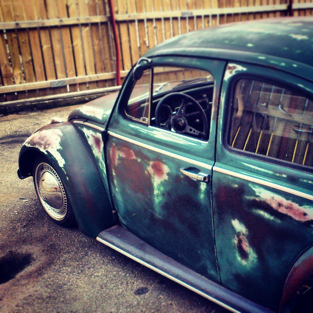 The patina 63. Soon back from the dead...