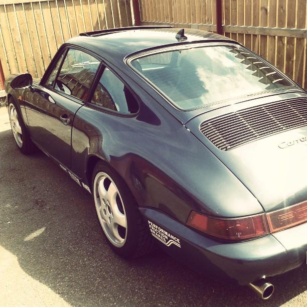 Driving Porsche today...