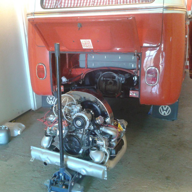 New engine ready to go in!
