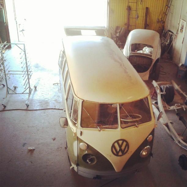 Garage today...
