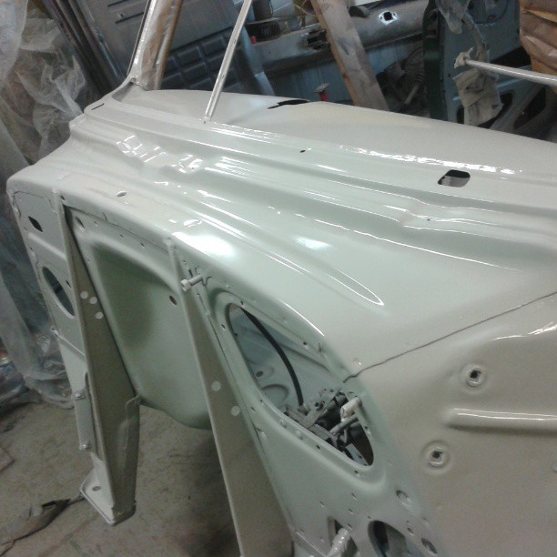 Bodywork started! 1951 Chevrolet Fleetline Deluxe lowrider project.